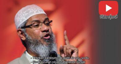 Ateist gencin Sorularına Mükemmel yanıtlar veren Dr Zakir Naik